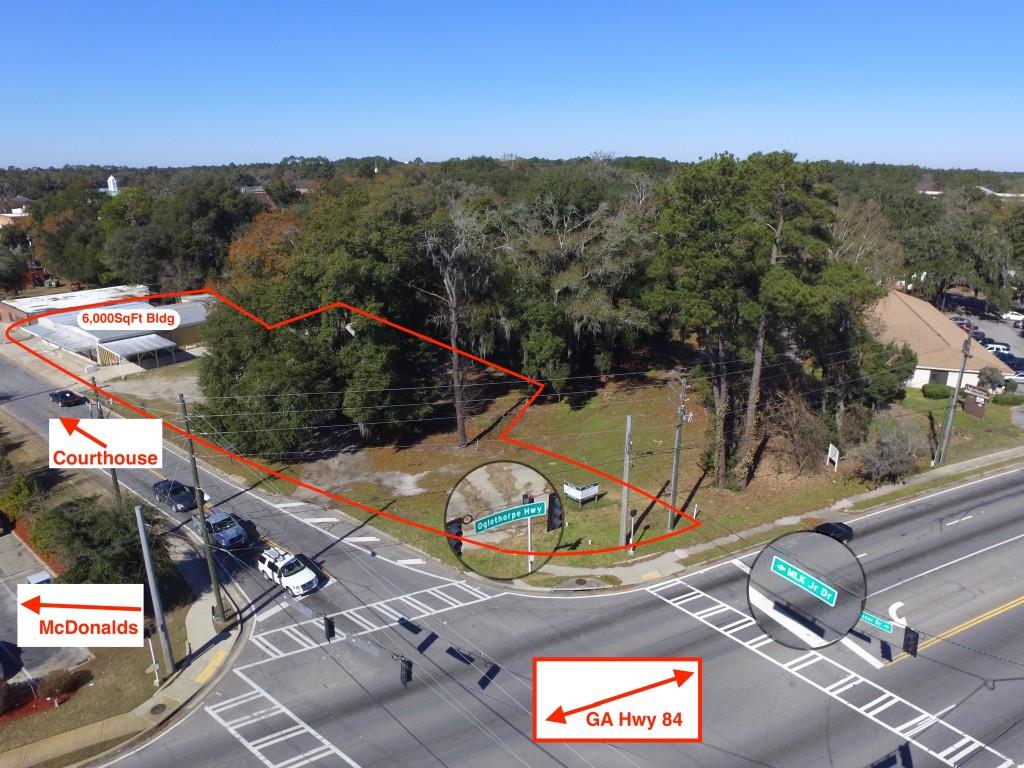 Hinesville Unique High Profile Corner Property for Sale