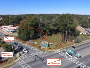 Hinesville Unique Corner Property for Sale