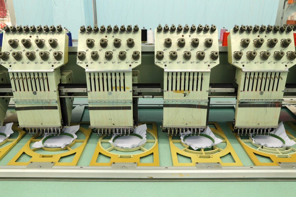 screen printing embroidery business